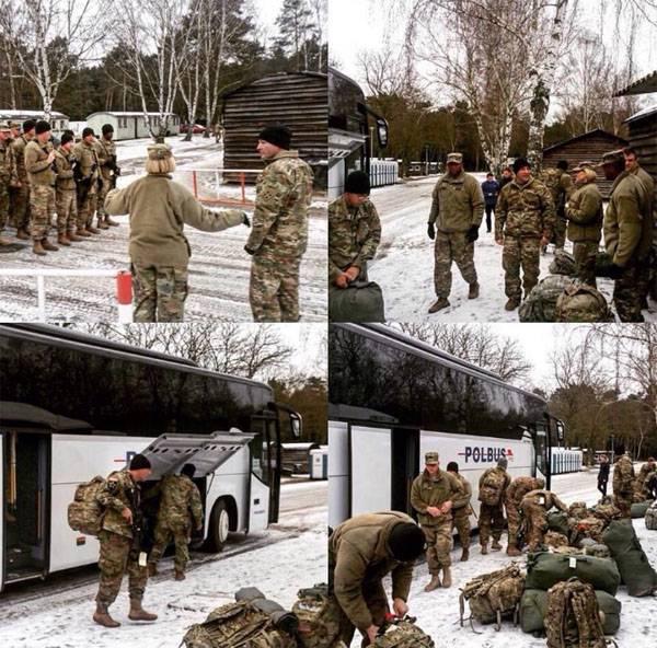 Сотни американских солдат прибыли вПольшу