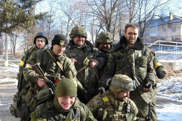 Минобороны Украины подтвердило информацию о захвате позиций под Дебальцево