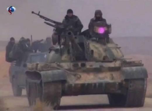Очередная модернизация сирийских Т-55?