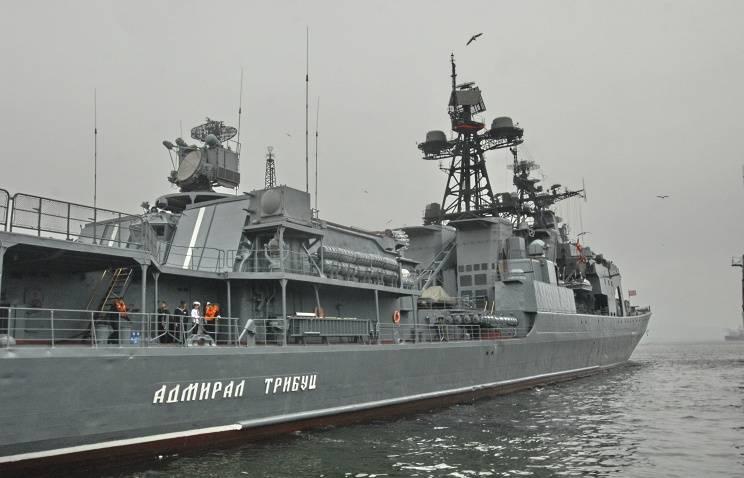 Отряд кораблей ТОФ совершает визит в южнокорейский Пусан