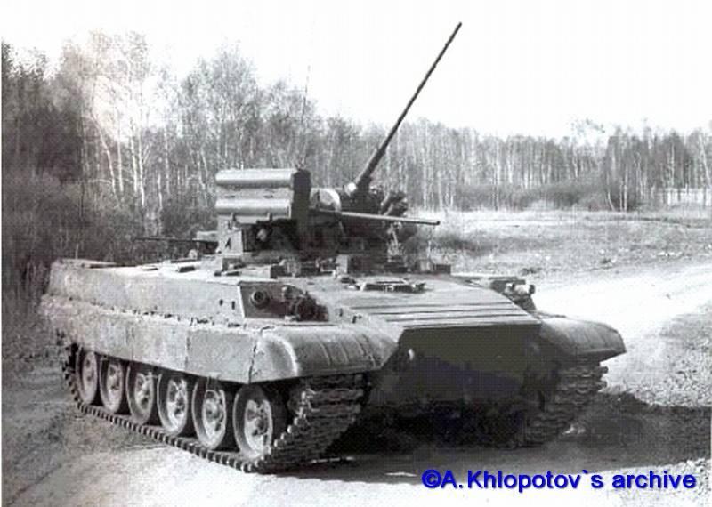 На УВЗ восстанавливают первую советскую БМПТ