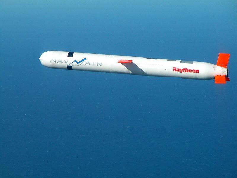 Успешные испытания американской ракеты Tomahawk Block IV