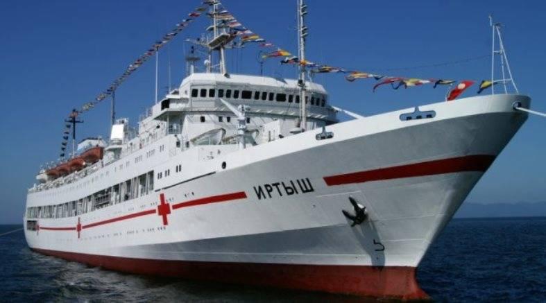 Госпитальное судно Тихоокеанского флота снабдят телемедицинским оборудованием