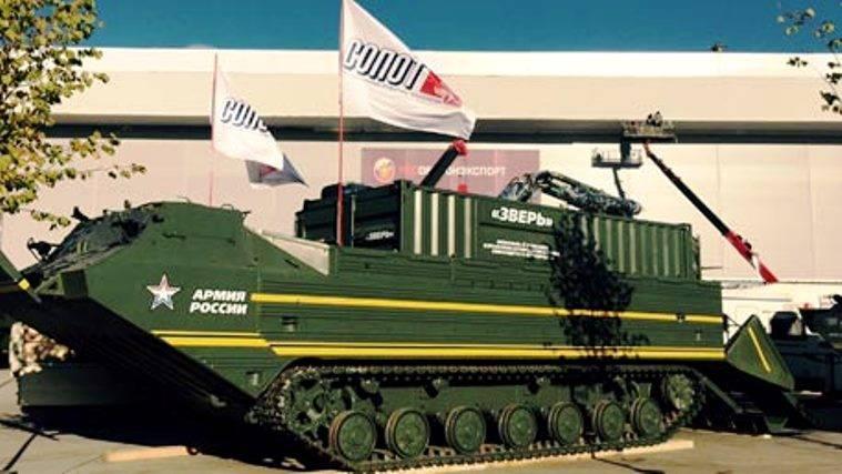 В Петербурге создан комплекс для тушения и маскировки военной техники
