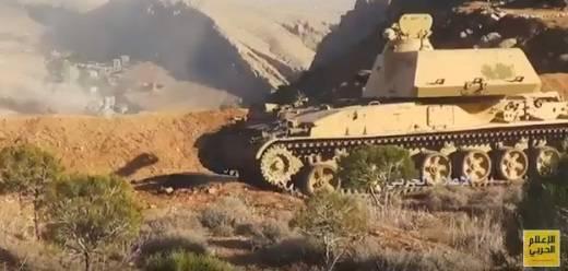 «Акация»: штурмовое орудие Сирии