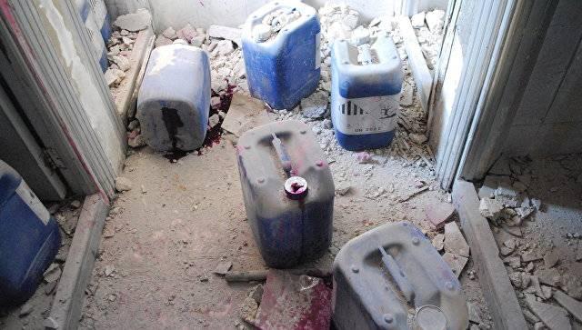 О «химическом» терроризме на Ближнем Востоке