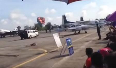 Крушение истребителя JAS 39 Gripen в Таиланде
