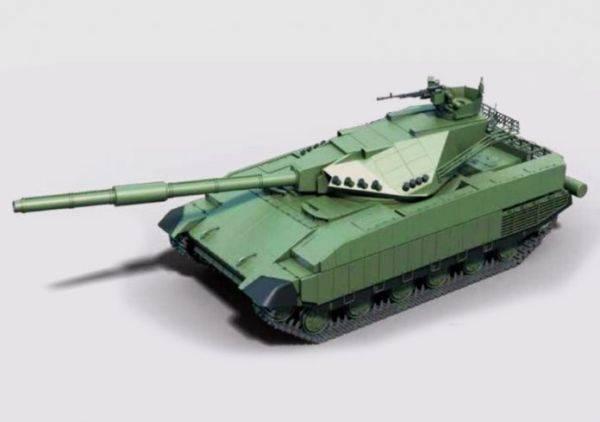 На Украине запатентован танк «Тирекс» – конкурент «Арматы»