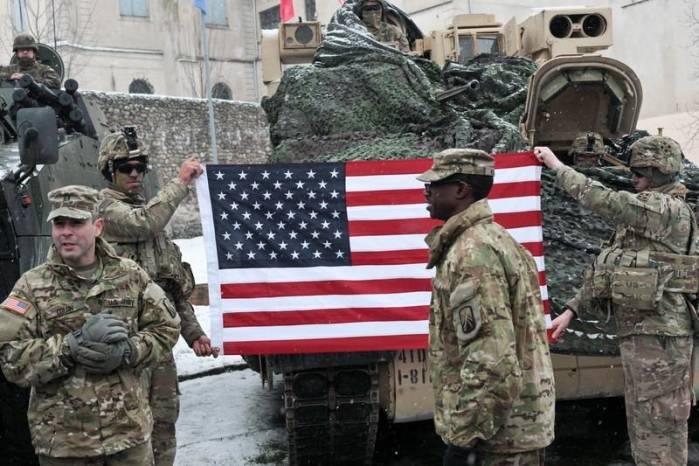 Военная техника США вПольше является пропорциональным ответом надействия РФ,— НАТО