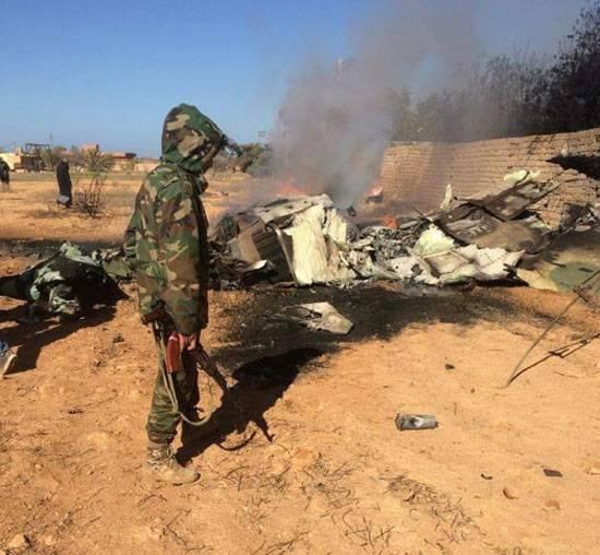Боевики с помощью ПЗРК сбили МиГ-23 ВВС Ливии