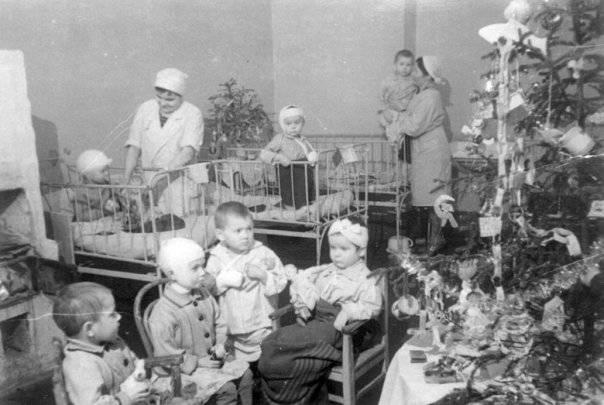 О детских садах  во время войны