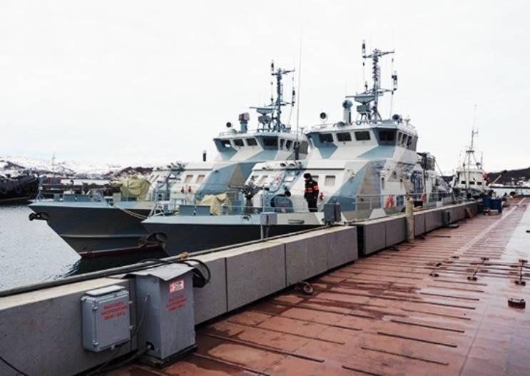 В состав Северного флота вошли 2 противодиверсионных катера