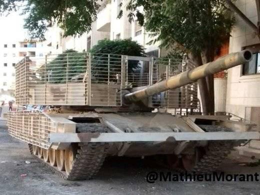 Боевое крещение модернизированного Т-72М1 в Сирии