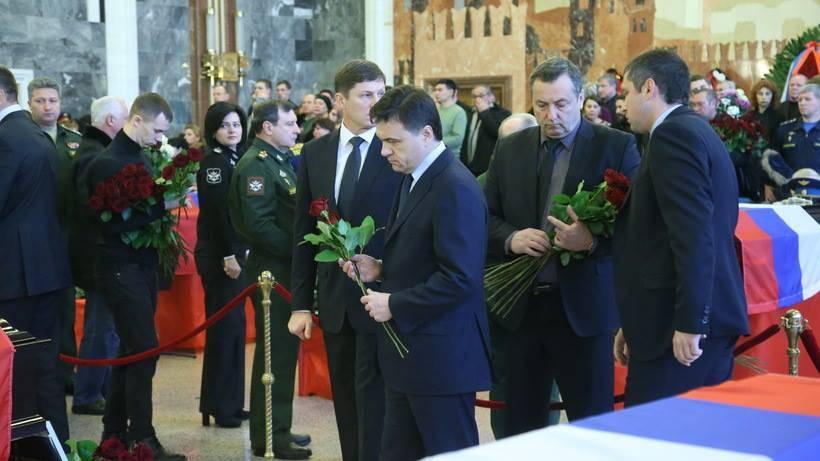 В Российской Федерации пройдут похороны большинства жертв катастрофы Ту-154 над темным морем