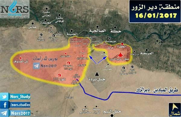 Армия Сирии отбила атакиИГ нагород Дейр-эз-Зор