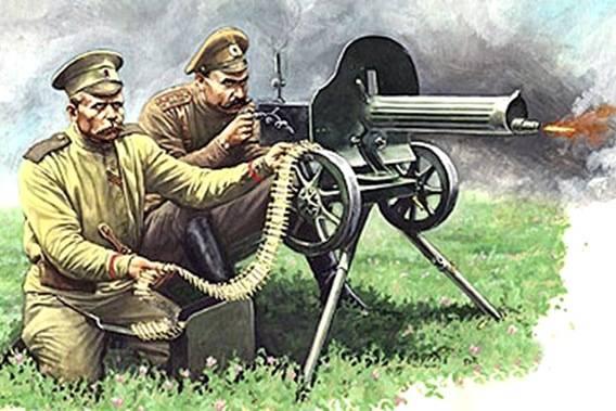 Первая мировая война. Огнестрельное оружие. Инфографика