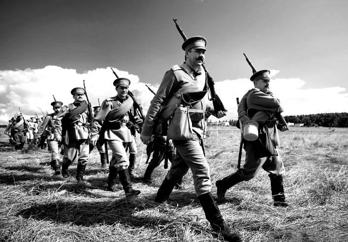Первая мировая война. Униформа и снаряжение. Инфографика