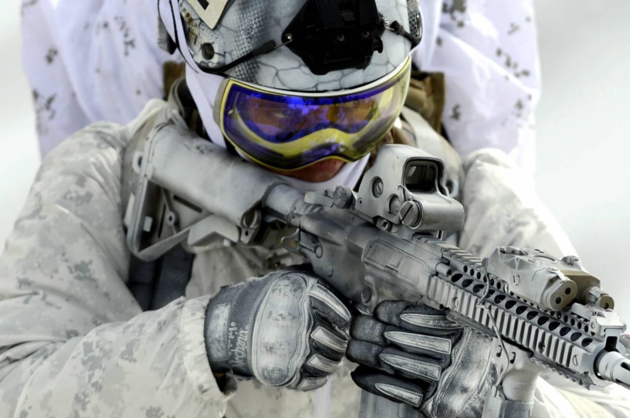 Сотни американских морских пехотинцев высадились вНорвегии