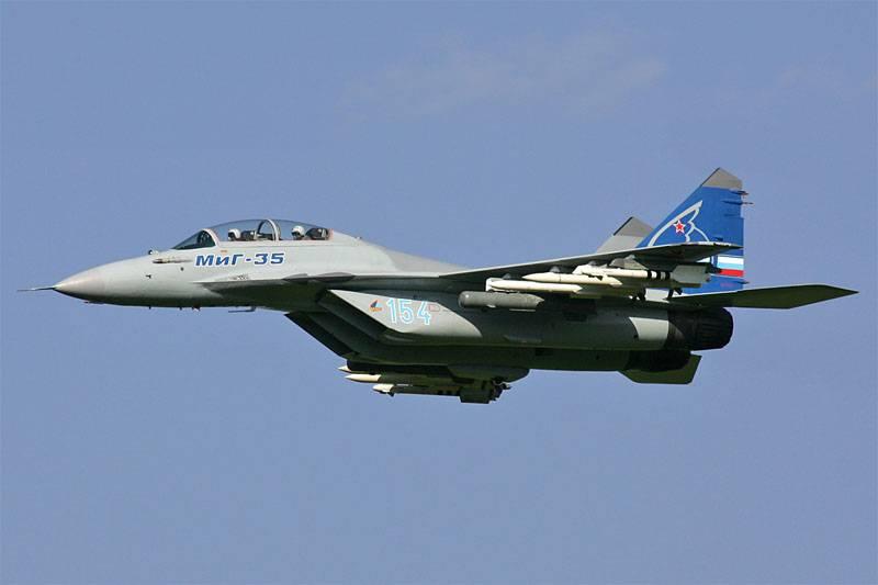 СМИ назвали дату начала испытаний нового истребителя МиГ-35