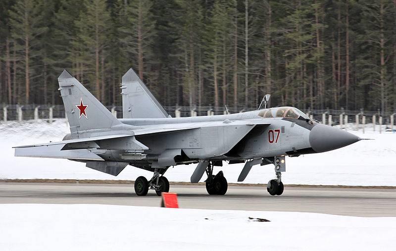 Новый полк МиГ-31 на Дальнем Востоке