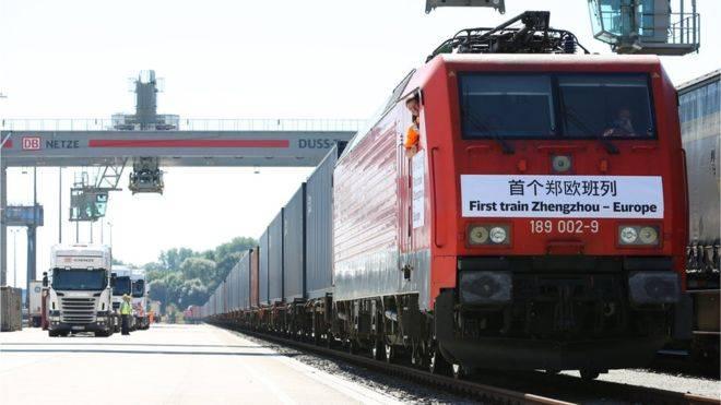 """Китайский поезд """"проигнорировал"""" Украину на пути в Лондон"""
