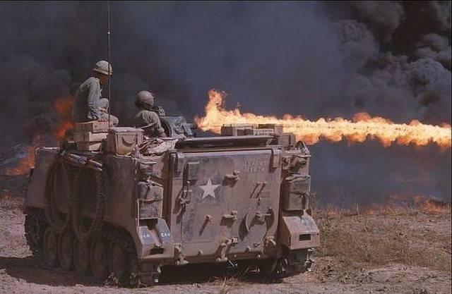 Самоходный огнемет M132 (США)