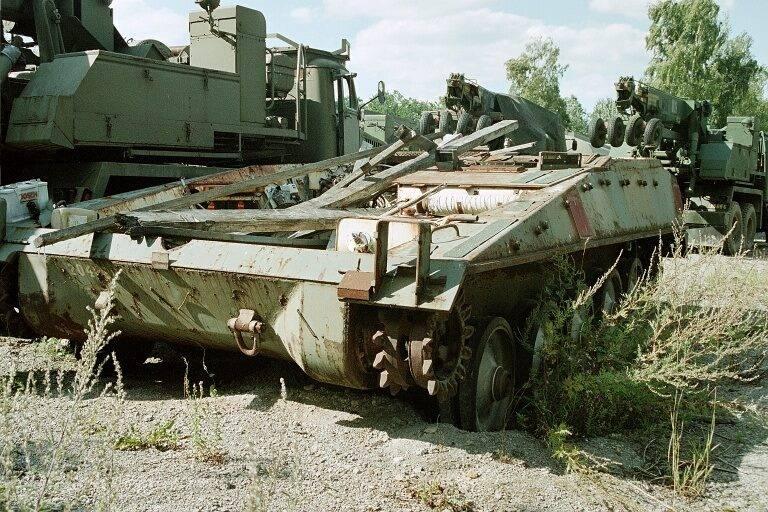 Проект легкого танка UDES 03 (Швеция)
