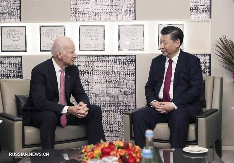 Председатель КНР проводил Джо Байдена на пенсию