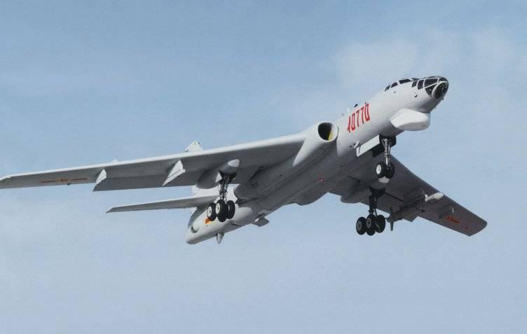 Китайский парк бомбардировщиков-ракетоносцев