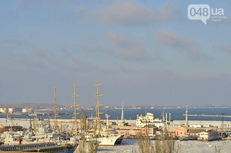 Военно-морские силы Украины вмёрзли в лёд