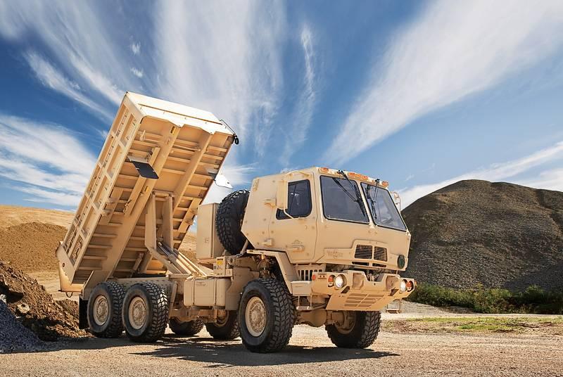 चतुर सैन्य रसद: टुकड़ी वाहन