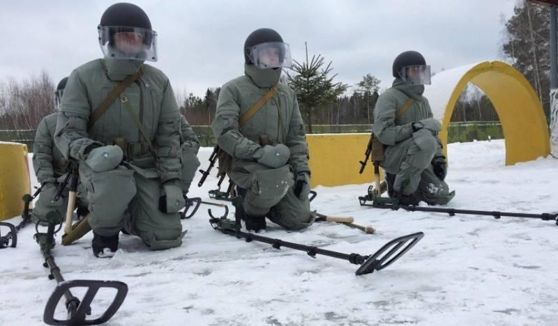 В России пройдут обучение саперы из пяти стран