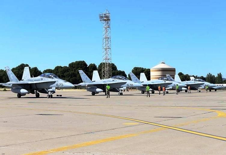 Миссия НАТО по наблюдению за небом Прибалтики будет усилена испанскими самолётами