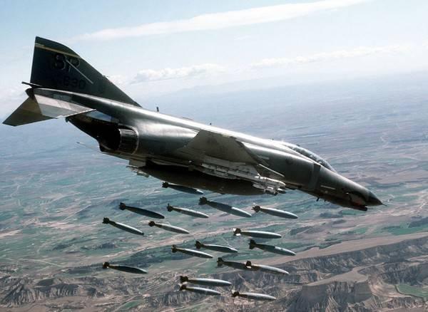 Эксплуатация «Фантомов» в ВВС США продолжается