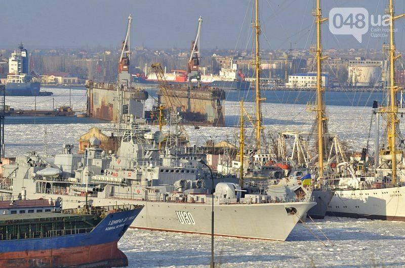 Провокации Украины в Черном море