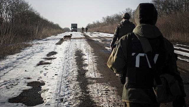 В ЛНР попали под обстрел журналисты и представители СЦКК