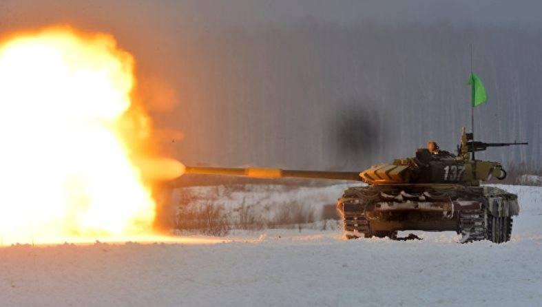Новые мишени повысят зрелищность танкового биатлона