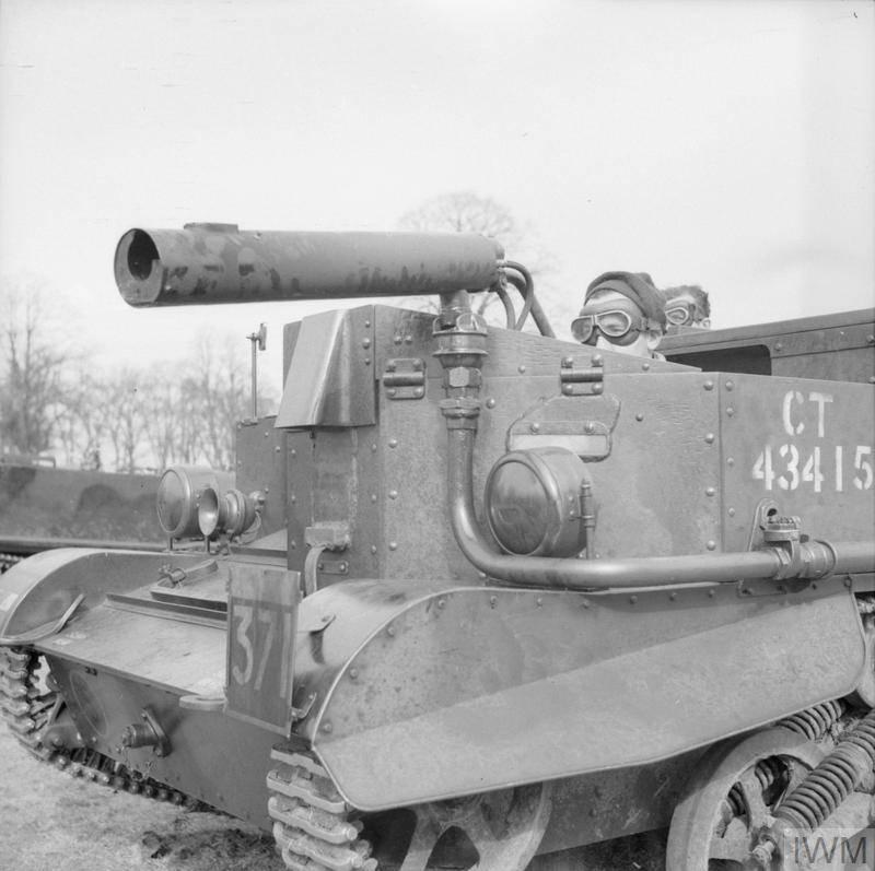 Самоходный огнемет Ronson flamethrower (Великобритания)