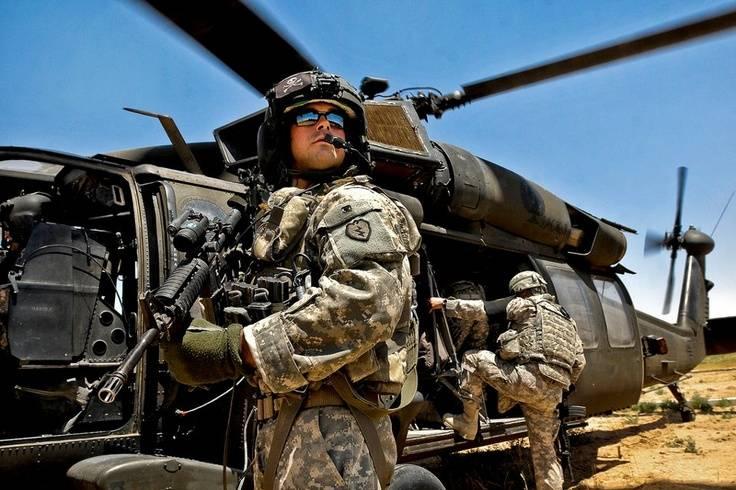 Американские военные создали базу на северо-востоке Сирии