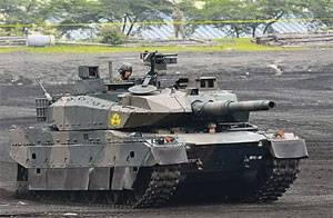 Японские танки в степях Украины