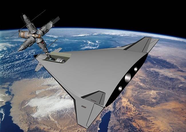 Представлена концепция космического корабля без использования ракет-носителей