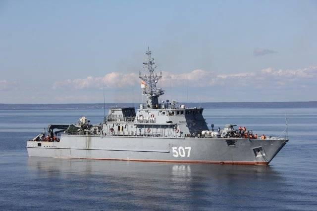 Новый тральщик ВМФ РФ
