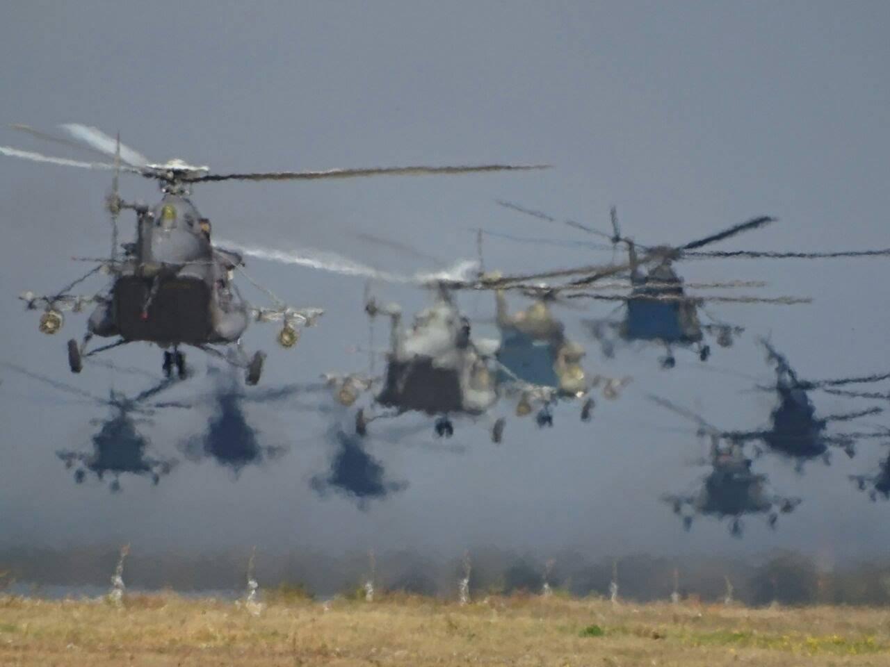 «Вертолеты России» передали МинобороныРФ партию вертолетов Ми-8МТВ-5-1