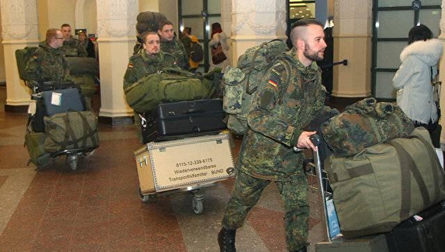 Первое подразделение бундесвера прибыло в Литву