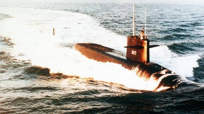 ЦРУ рассекретило сведения о столкновении советской и американской субмарин