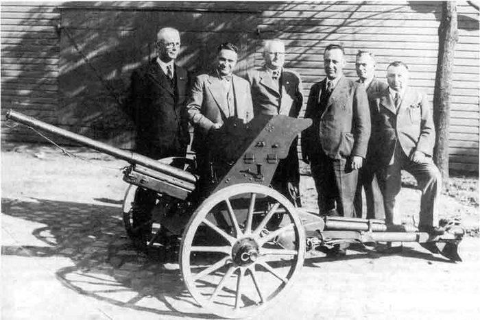 "Pistolet antichar Pak 35 / 36: symbole de la blitzkrieg ""shadow"""