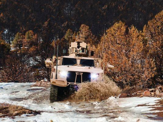Британия закупает новейшие американские бронеавтомобили Oshkosh L-ATV