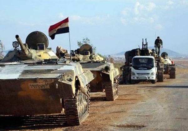 Армия САР продолжает наступление под Дейр-эз-Зором и Пальмирой