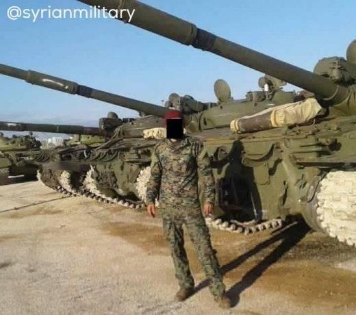 Модернизация Т-62М в Сирии