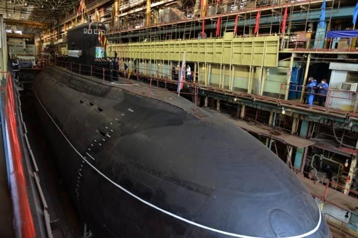 """Подводная лодка """"Комсомольск-на-Амуре"""" передана ТОФ"""